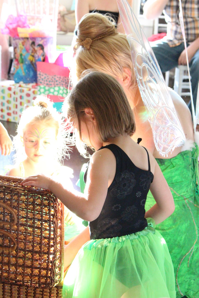 Tinkerbell at a party